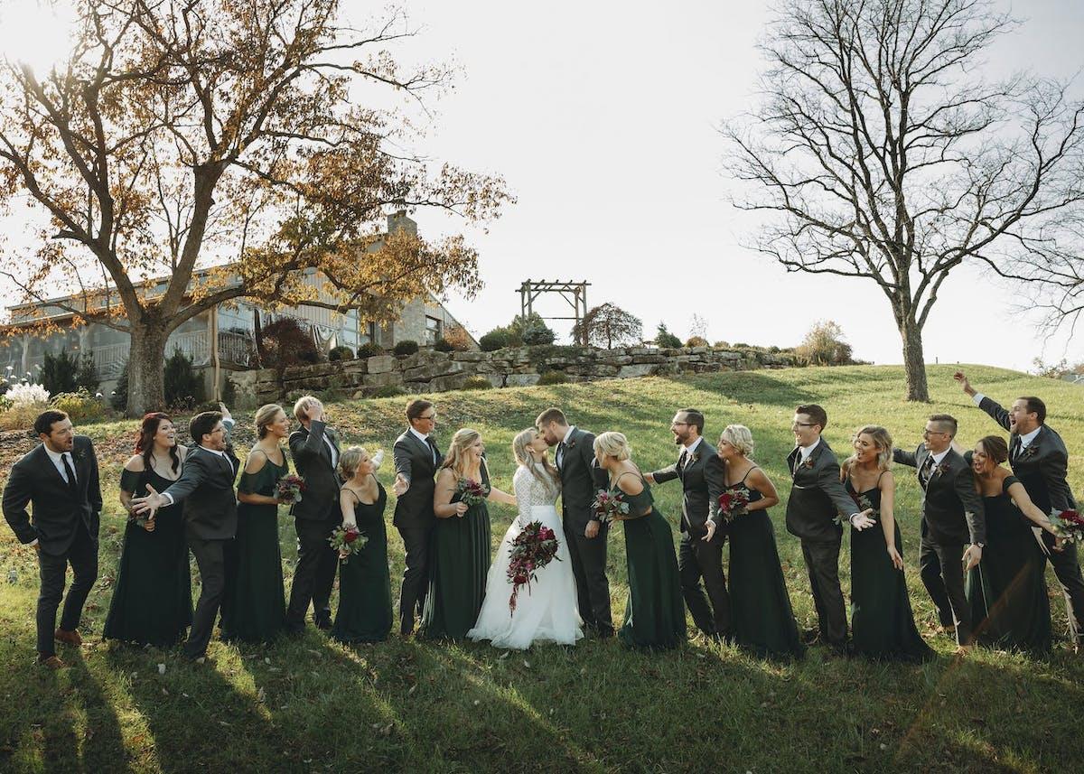 fall 2020 wedding colors
