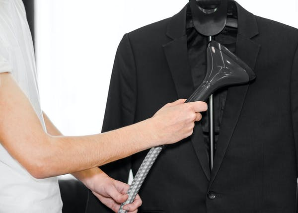 how to get wrinkles out of a suit