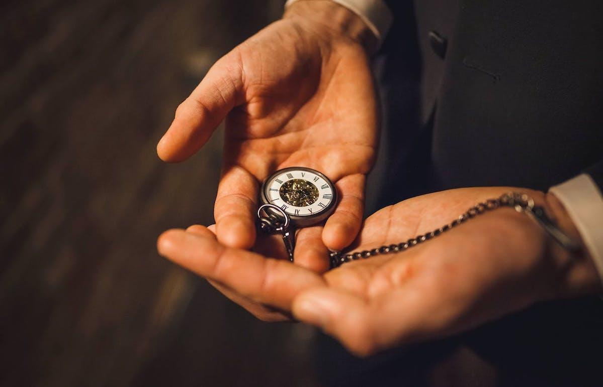 Pocket watch for wedding day