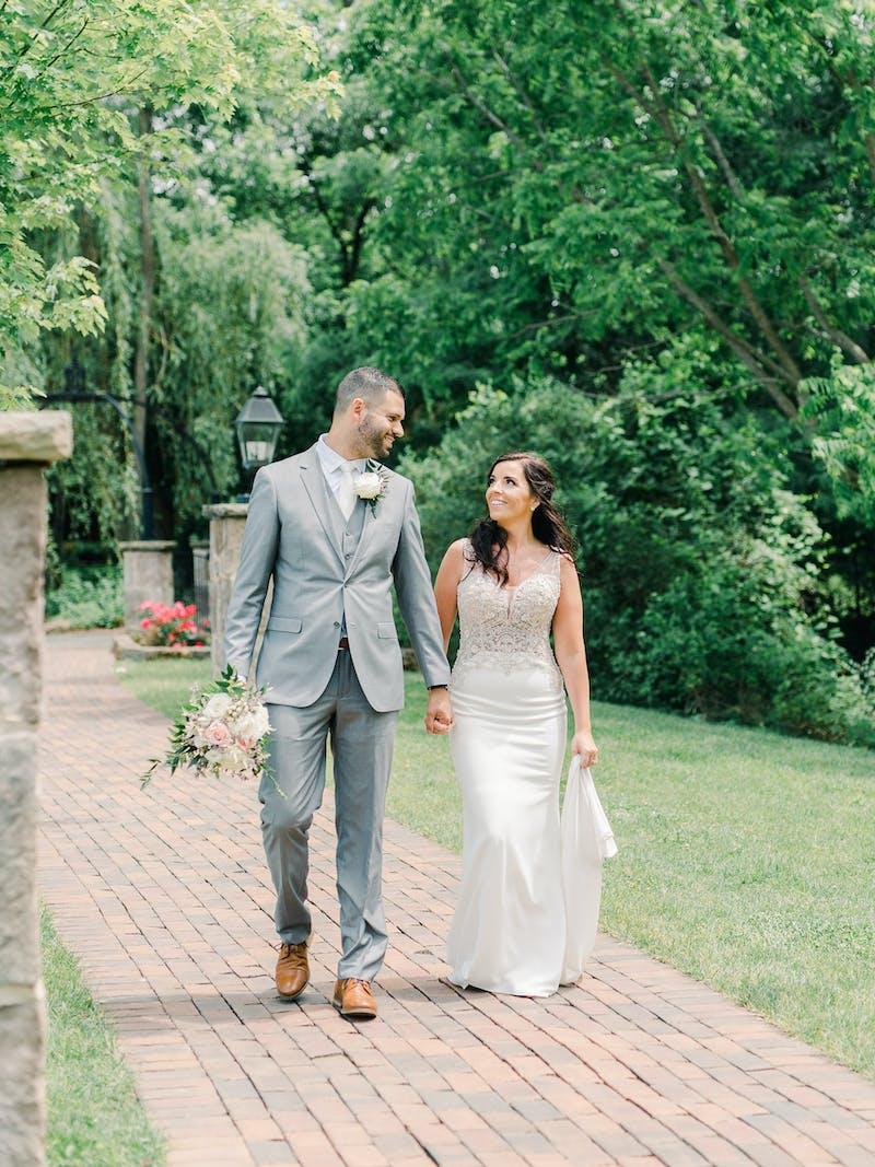 light gray wedding suits