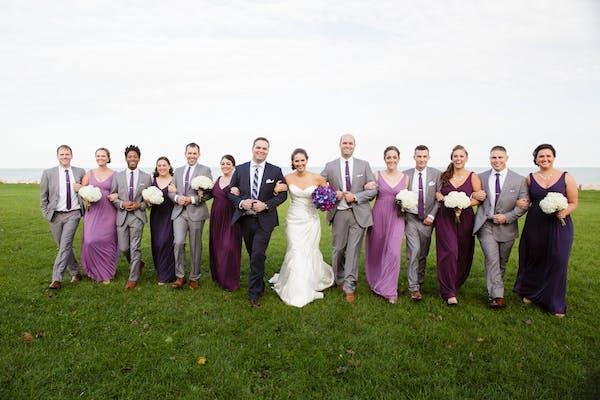Ultra Violet Wedding Ideas: Groomsmen Accessories