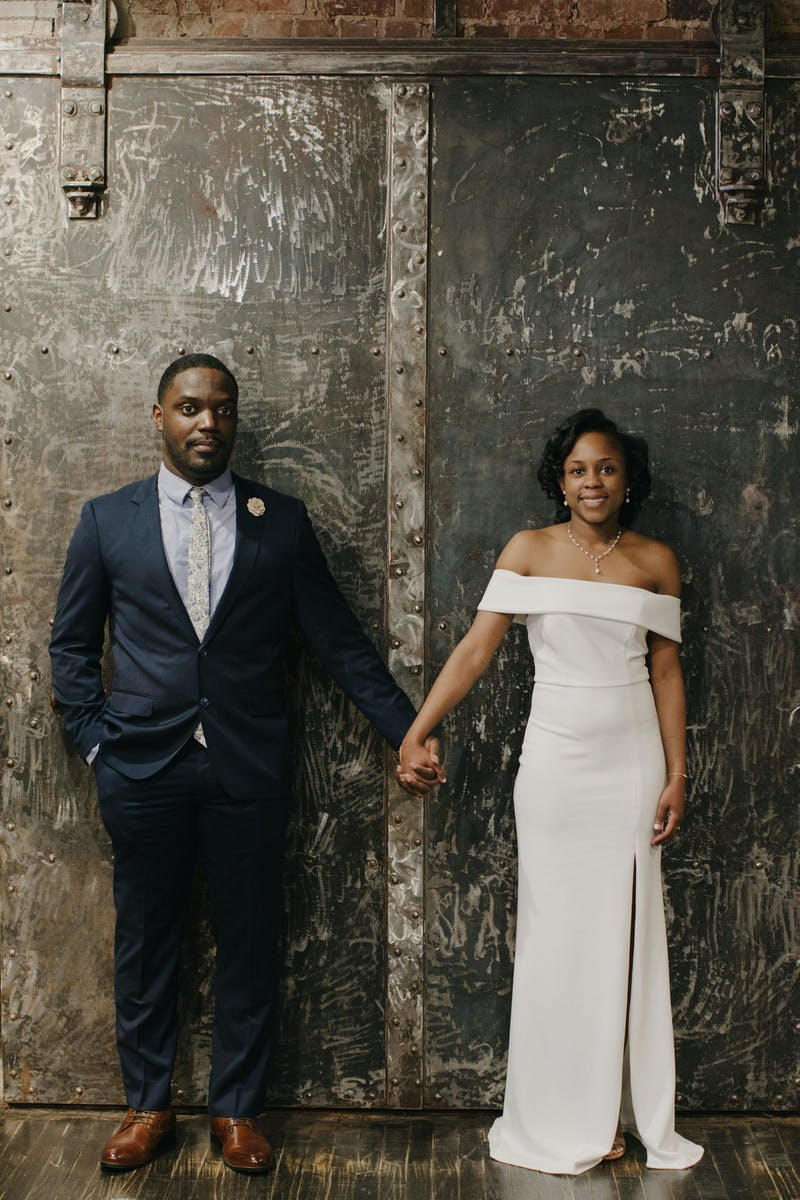 how to style an industrial wedding