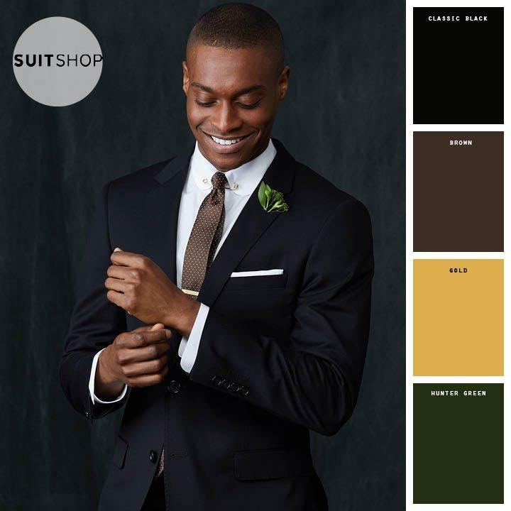 winter wedding color schemes
