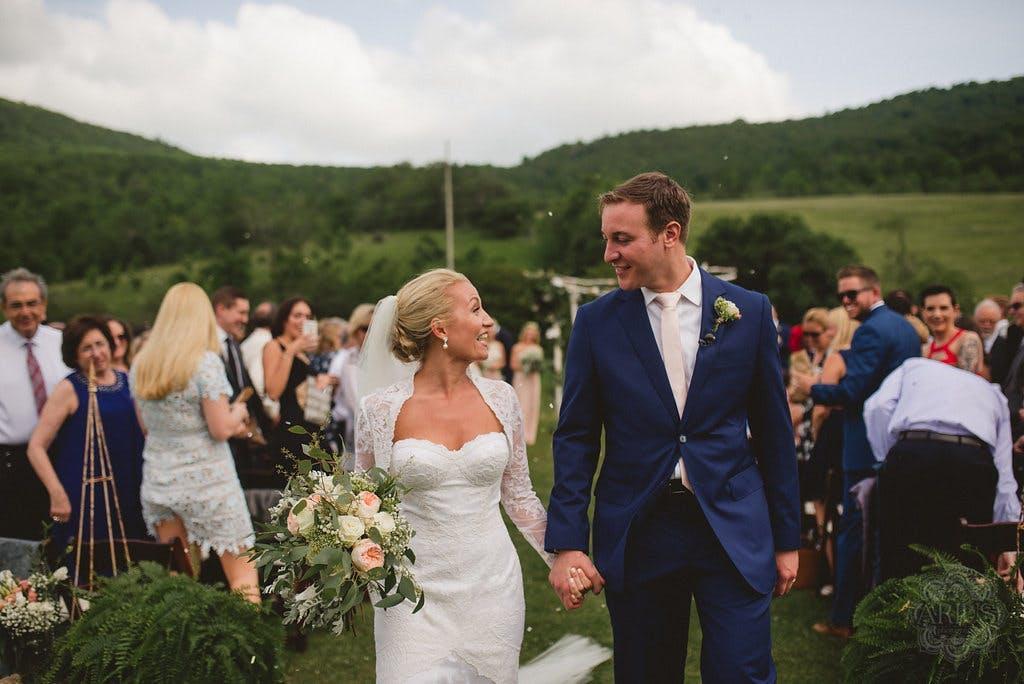 The Groomsman Suit Blue Wedding Suit
