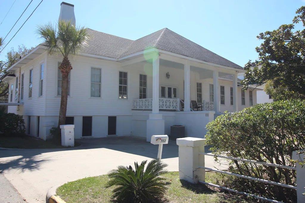 The Wheel House, a Historic Home in Tybee Island, Ga.