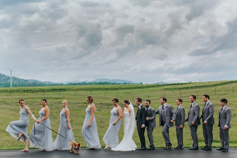 Real Weddings_Matthew and Emily_Gray Wedding Suit