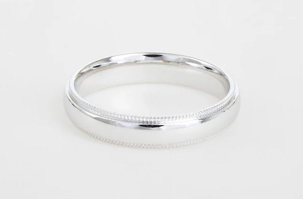 A guide to men's wedding band styles for grooms