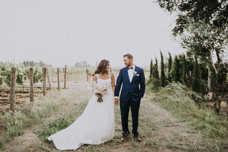 blue men's wedding suit