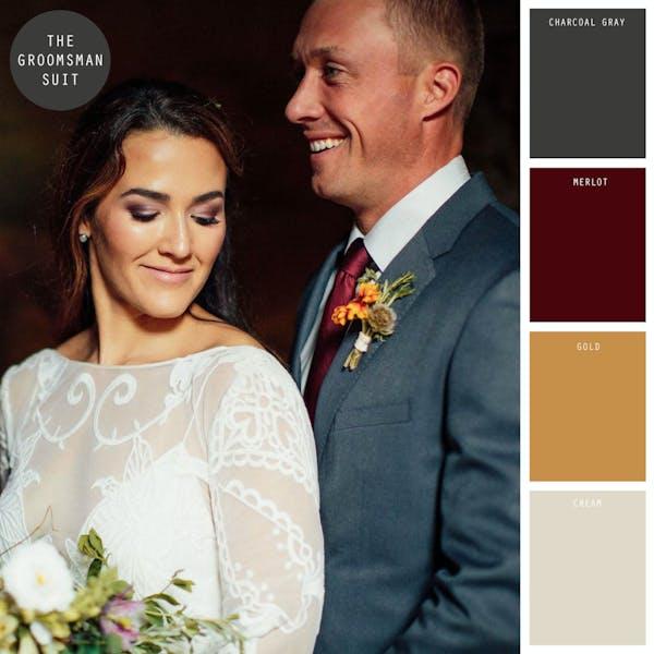 winter wedding colors