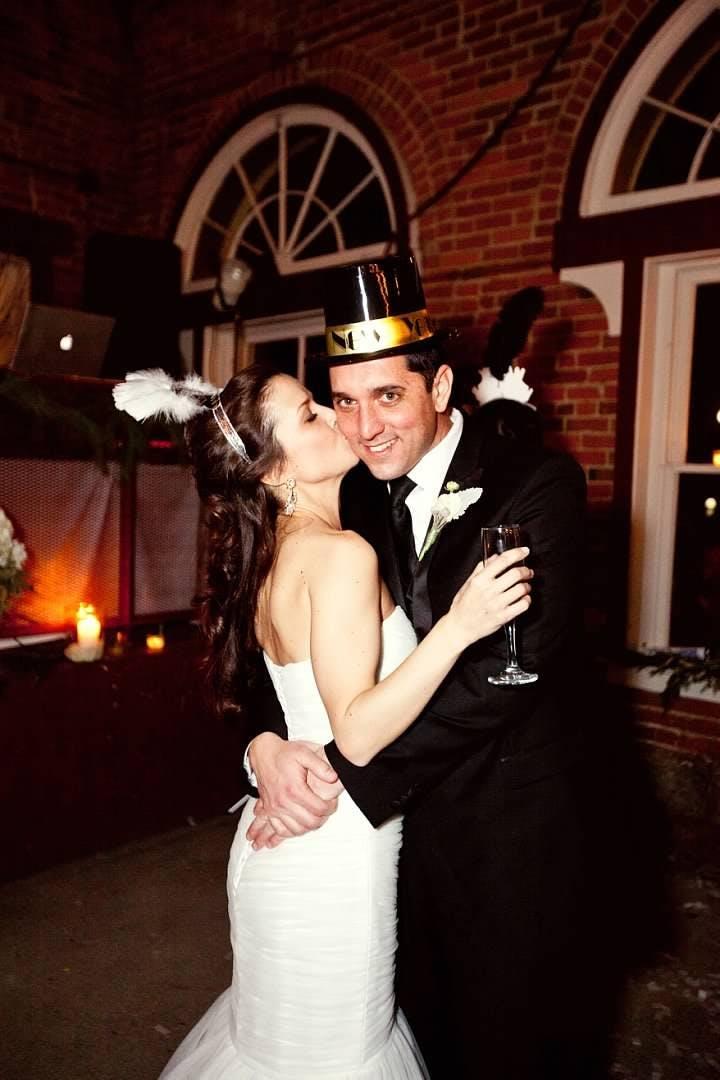 New Year's Eve Wedding Style