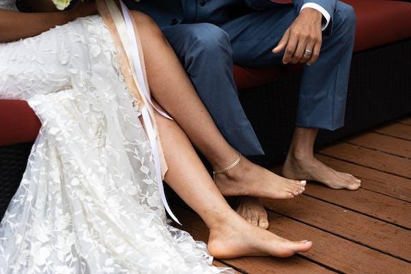 Best footwear for beach weddings