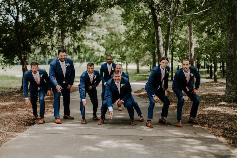 blue wedding suits for men