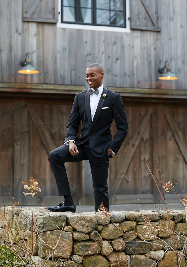 Best shoes to wear with your black tuxedo