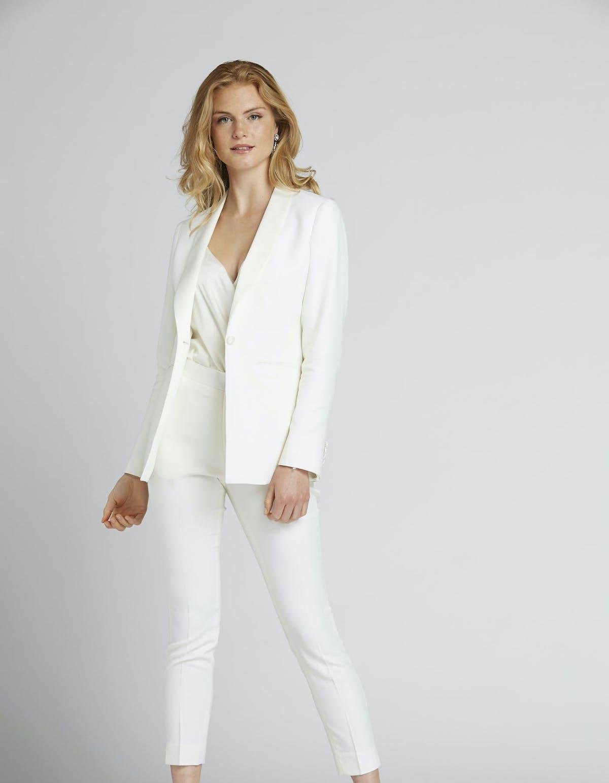 white tuxedo for women
