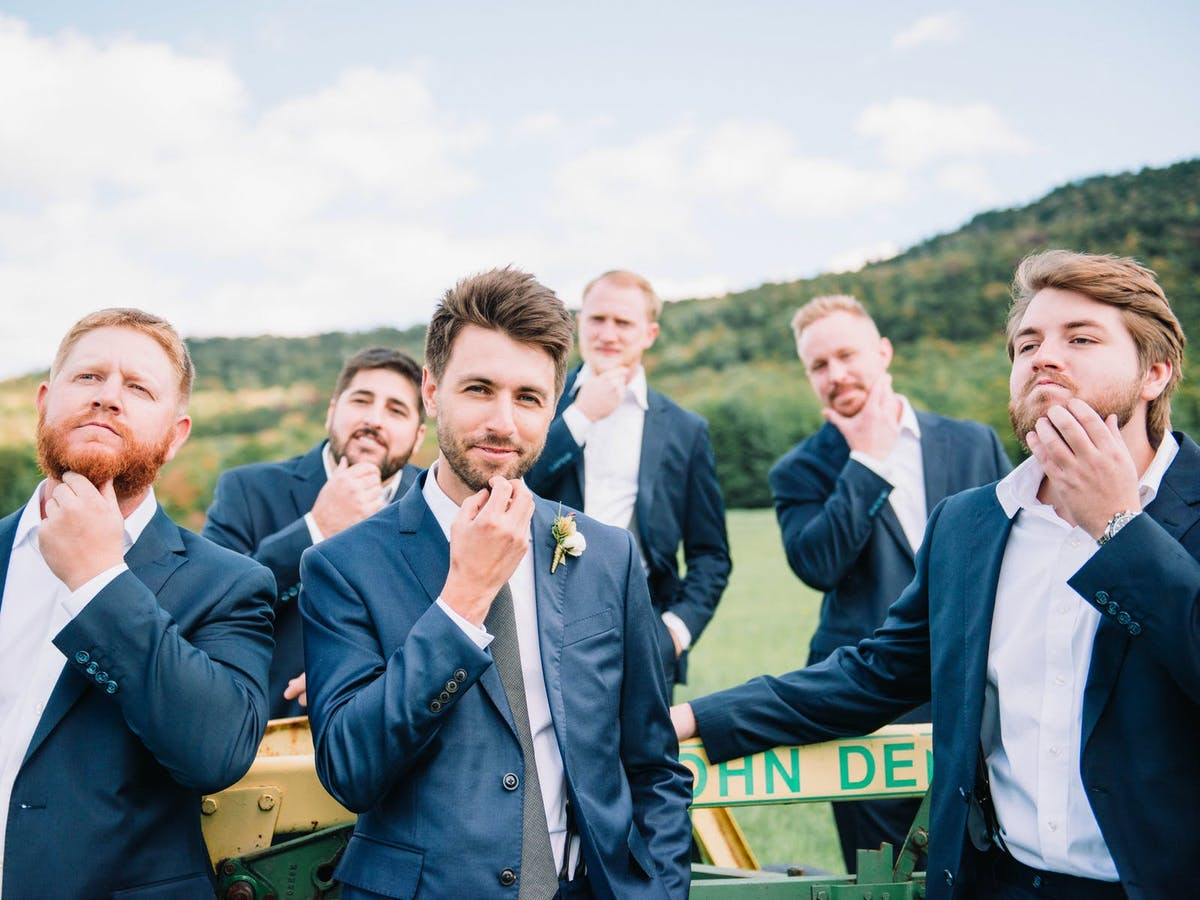 wedding day grooming advice