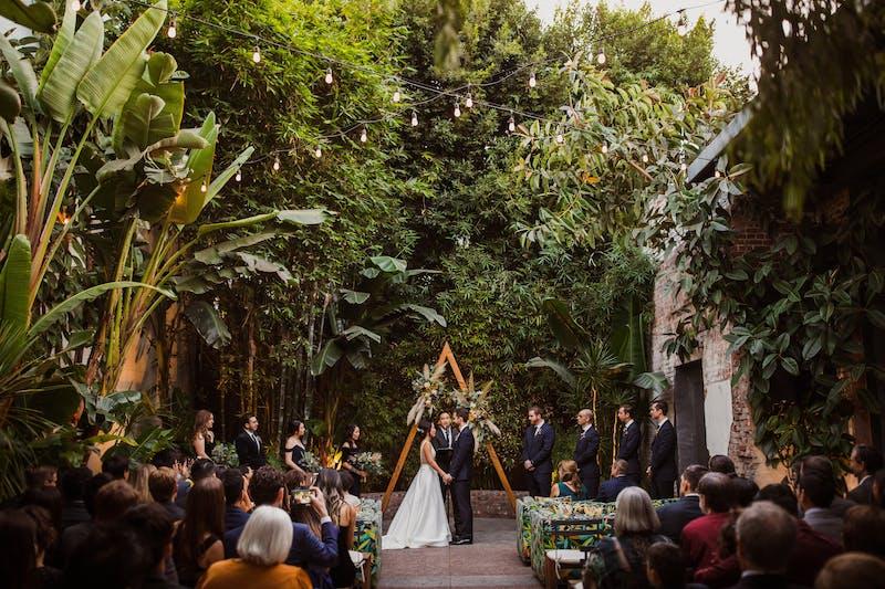 formal outdoor wedding inspiration