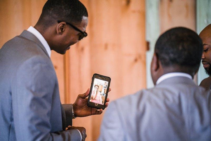 the groomsman suit real weddings