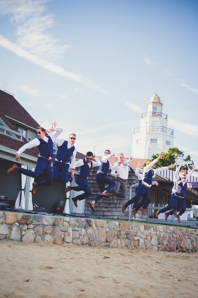 Real Weddings_Brad and Rica_Blue Groom Suit
