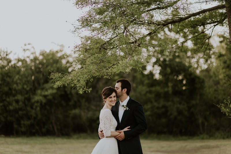 Real Weddings Matt and Rachael Navy Wedding Suit
