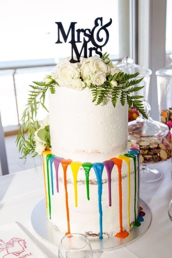 gay wedding cake ideas