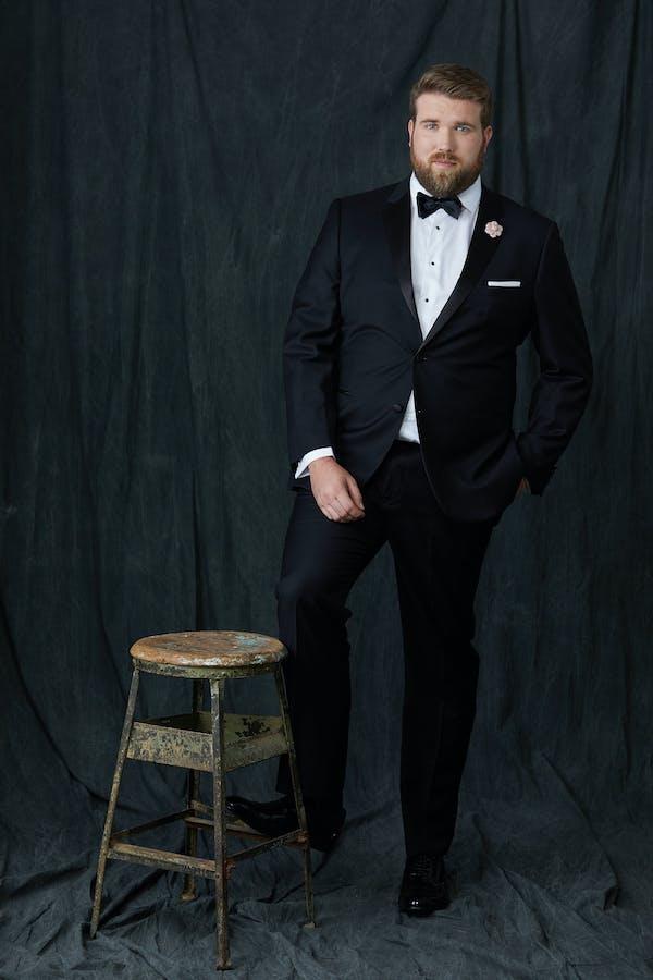 black tie wedding tuxedo