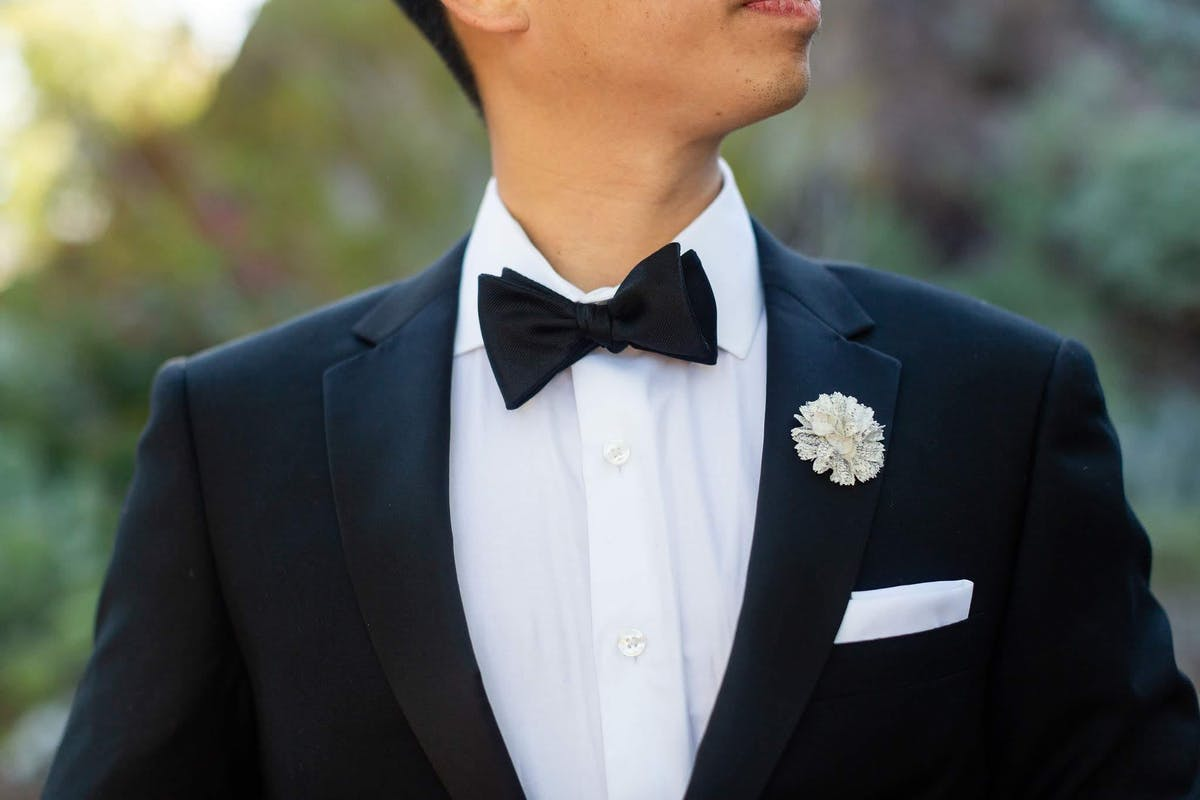 Tips for wearing a pocket square with your wedding suit or tuxedo