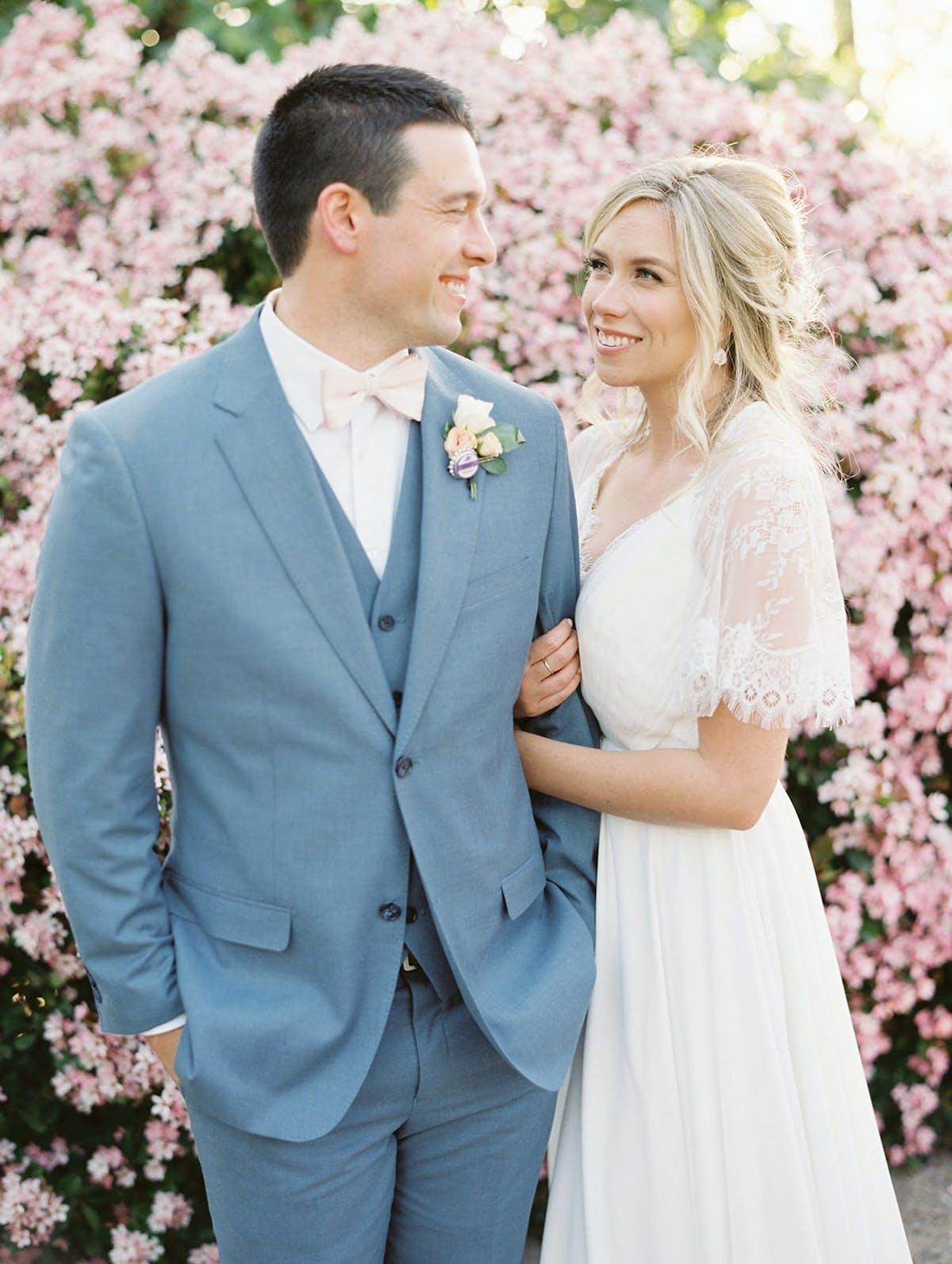 dusty blue wedding suits