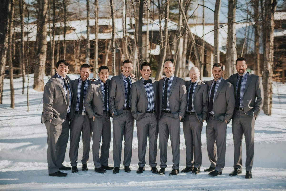 Groom's Winter Wedding Style
