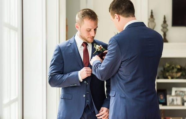 Best pocket square folds for wedding suits for men