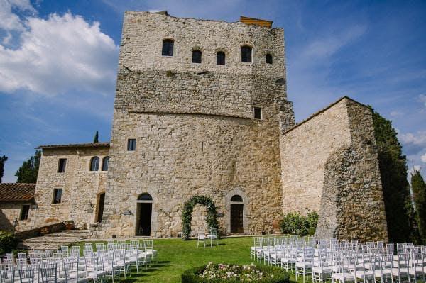 castle wedding in italy