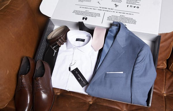 The Groomsman Suit's free home suit trial is the best wedding planning resource to take advantage of.