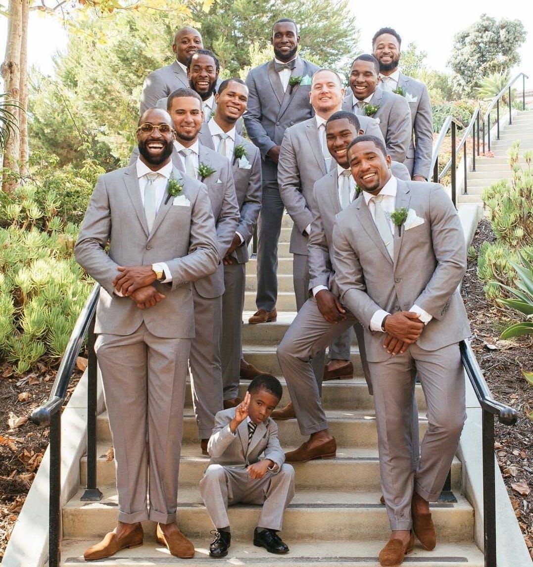 Wedding Suits_Kam Chancellor