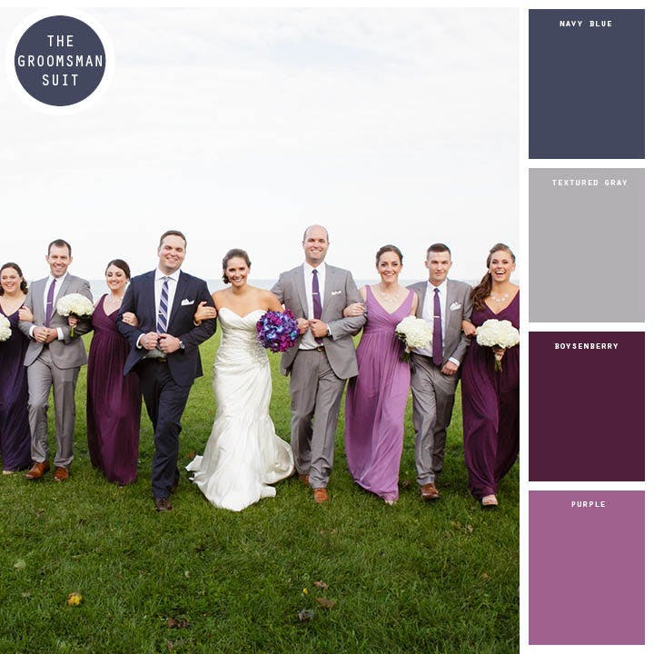 Fall Wedding Colors_gray and navy