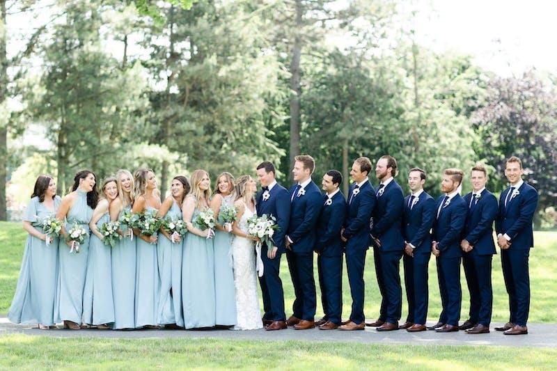 ice blue wedding colors