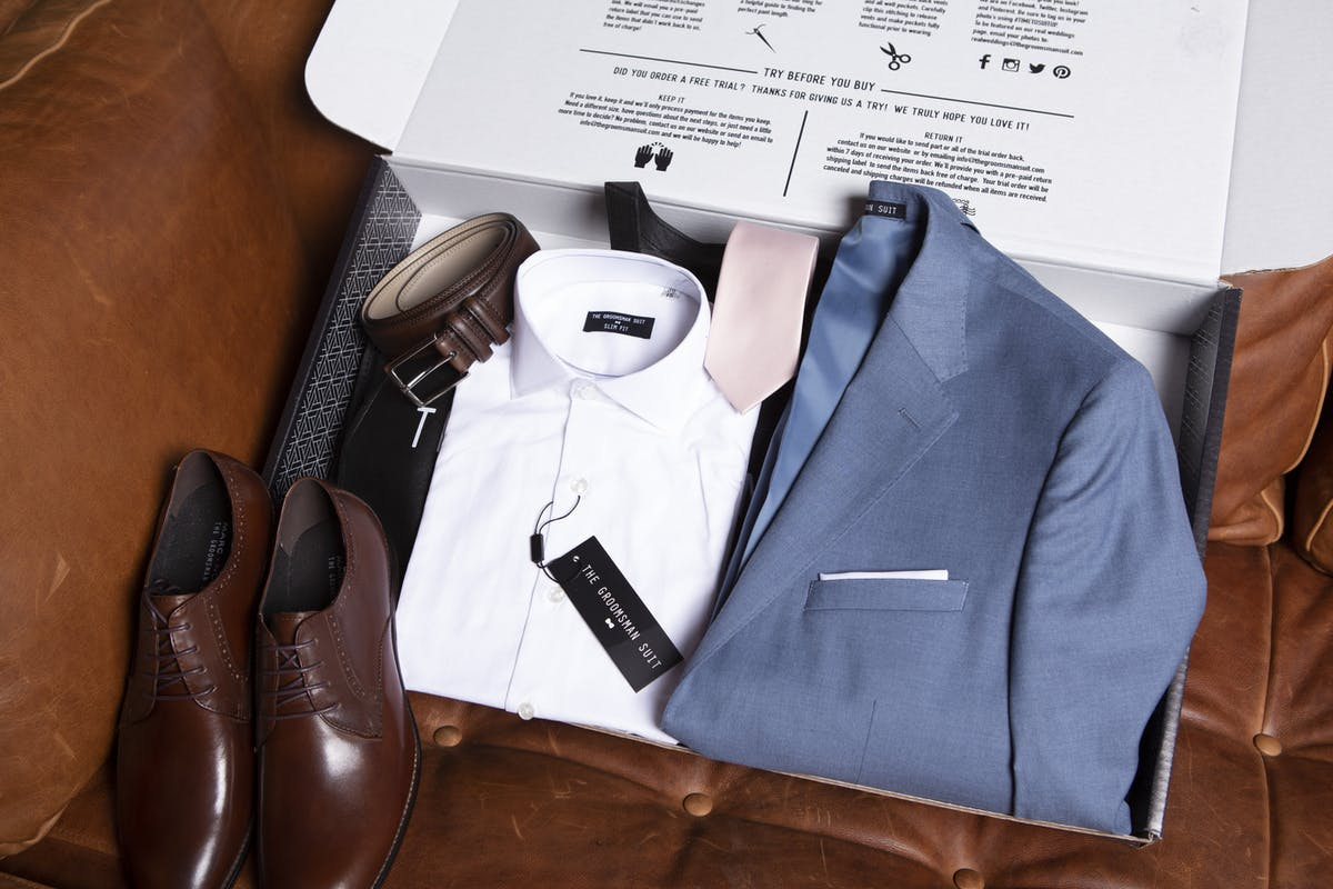 order a great fitting suit at home