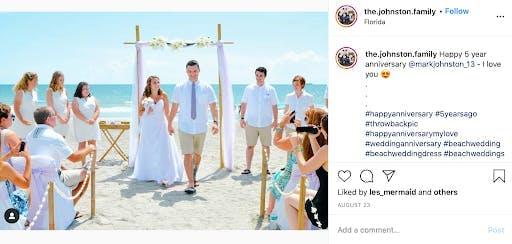 sandy beach wedding attire