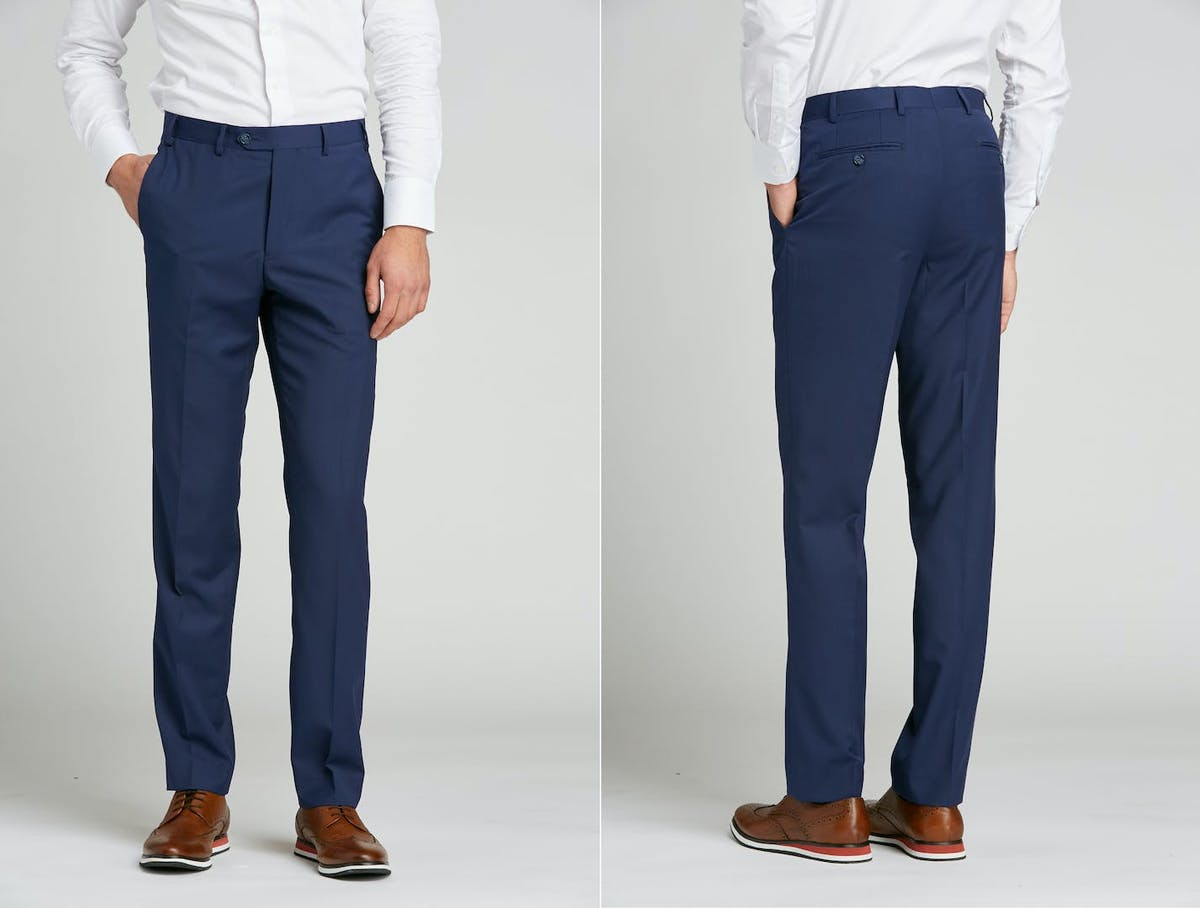 How to alter your wedding suit. Recommendations for groomsmen on pant hemming and wedding suit alterations