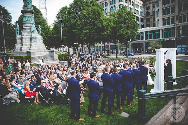 blue groom suits