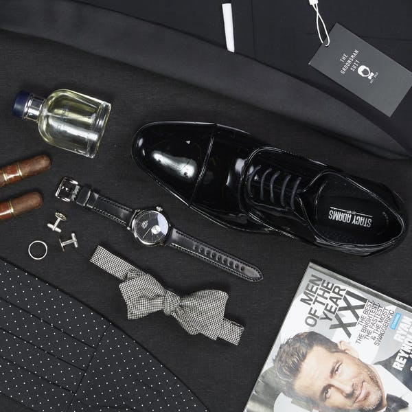 Tuxedo Accessories_The Groomsman Suit