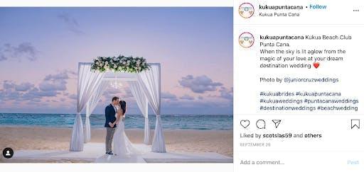 beach hotel weddings