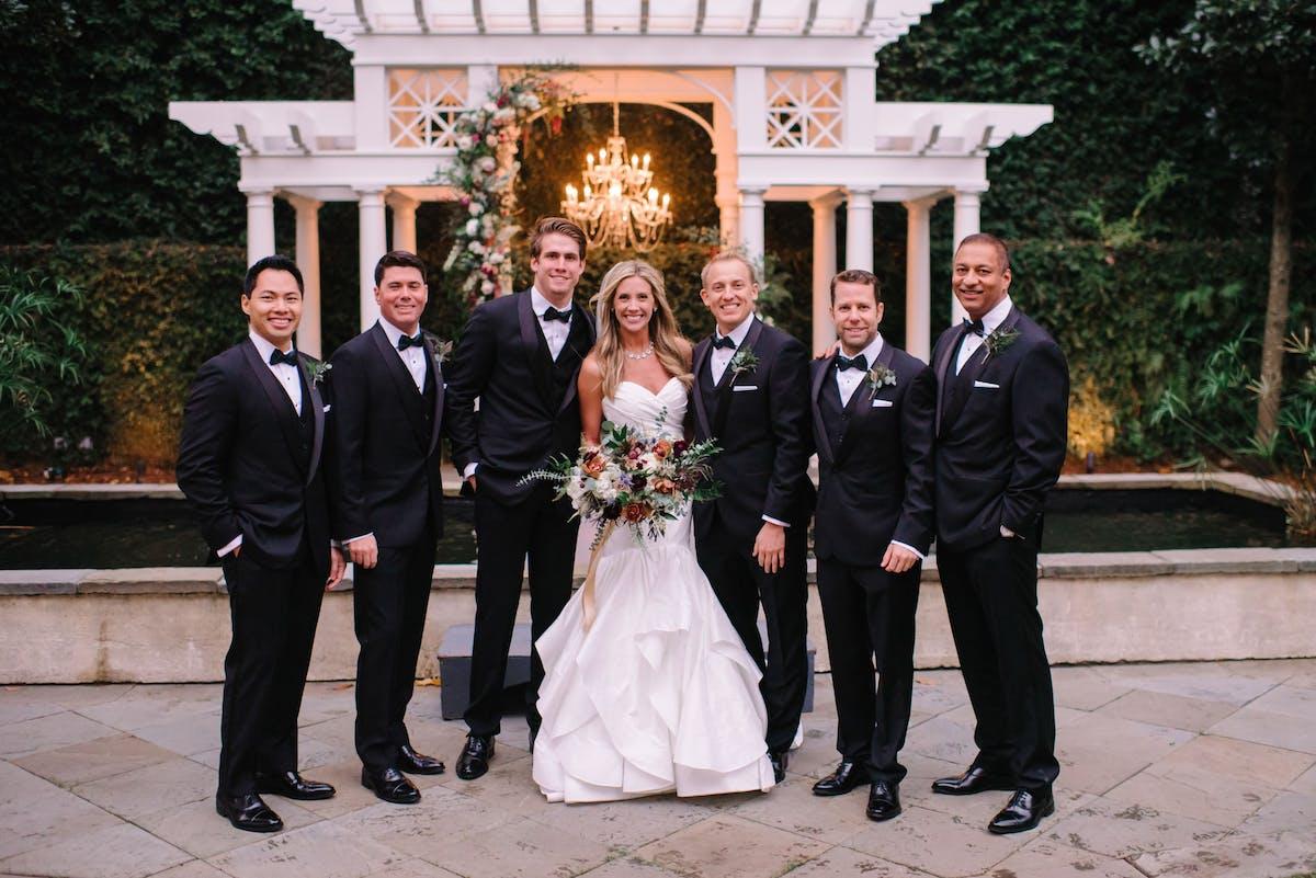 black tie groom attire